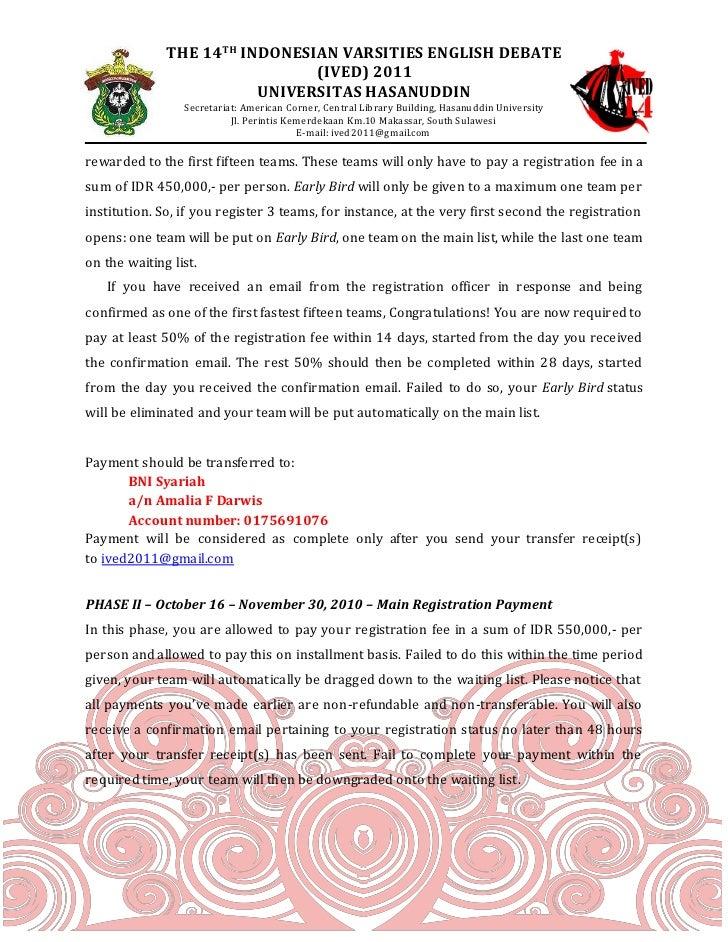 Invitation and registration form ived unhas 2011 8 stopboris Choice Image