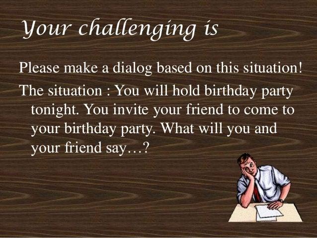 Invitation Expression