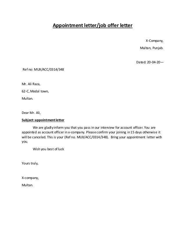 Types Of Letters Inform Letter Transfer Letter Templates Free