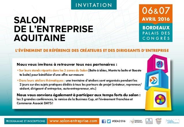 invitation salon entreprise aquitaine seabdx bordeaux