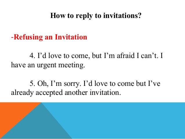 How To Respond When Someone Declines Your Invitation - Premium Invitation Template Design ...