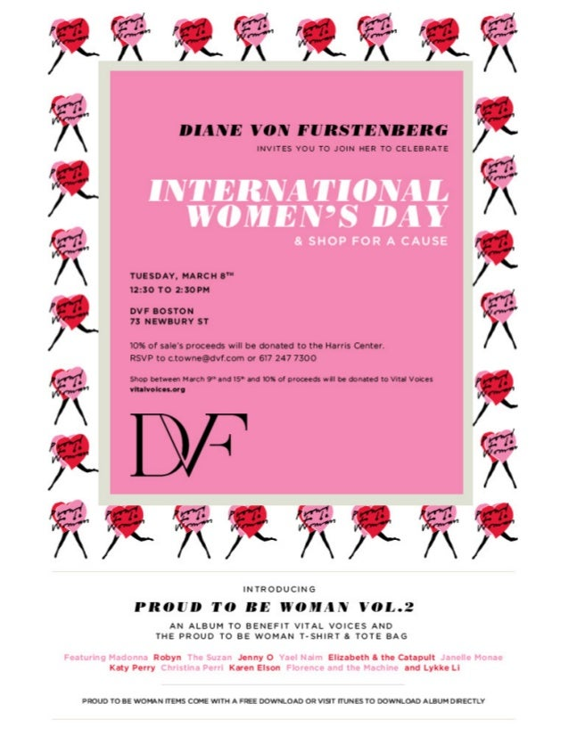 Invitation to diane von furstenbergs 2011 store event
