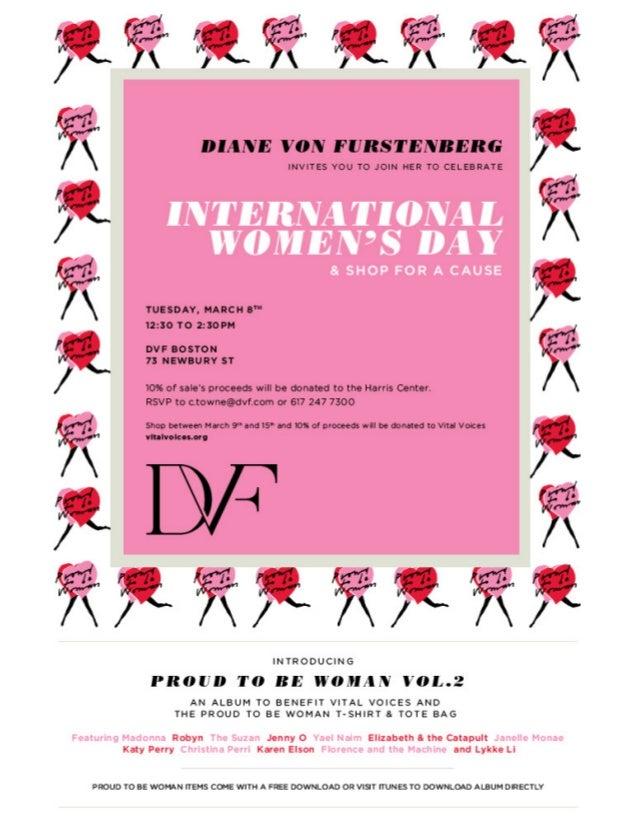 Invitation To Diane Von Furstenberg S 2011 Store Event