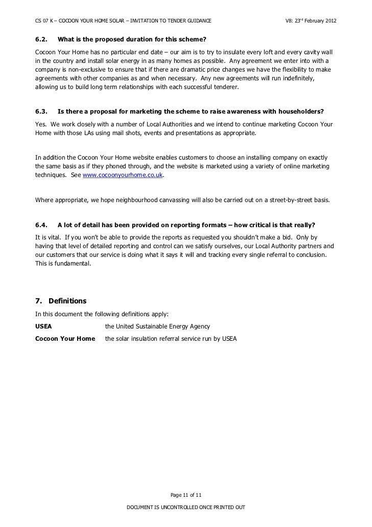 Invitation to tender guidance page 10 of 11 document is uncontrolled once printed out 11 stopboris Gallery
