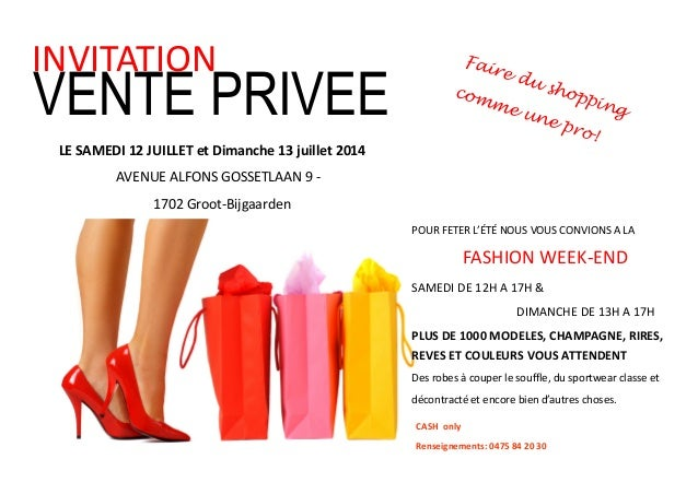 vente privee week end