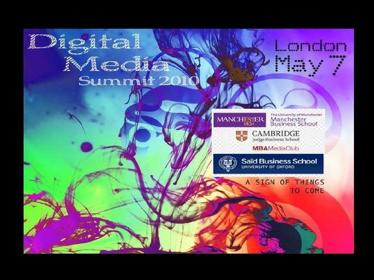 Digital Media MBA Summit 2010