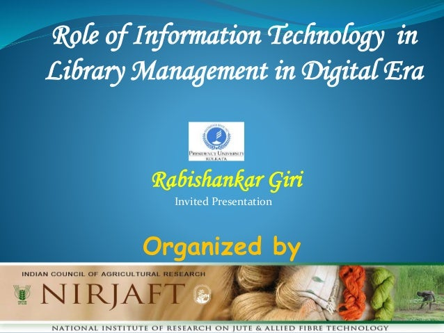 role of information technology in development of hindi Published: mon, 5 dec 2016 information and communication technology is a marvelous changing force in 21st century technology has its influence and reshaped every field of life.