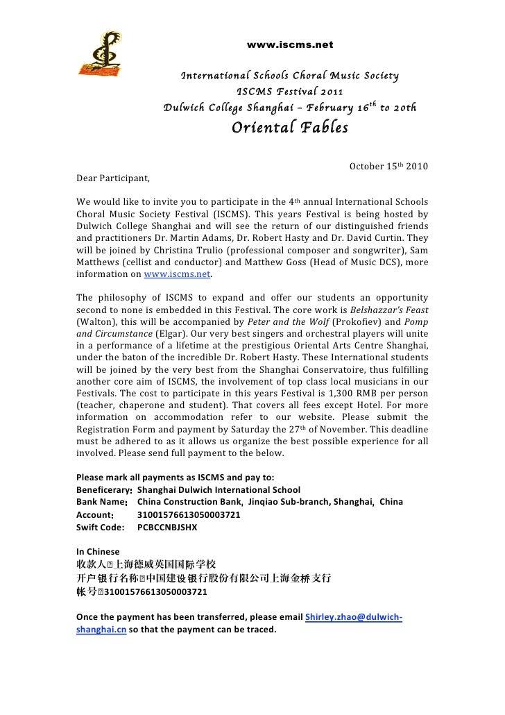 ISCMS Invite letter 2011