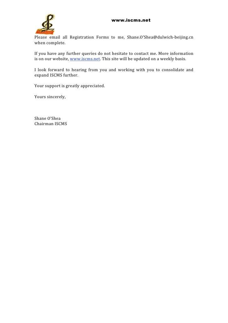 Iscms invite letter 2011 2 stopboris Choice Image