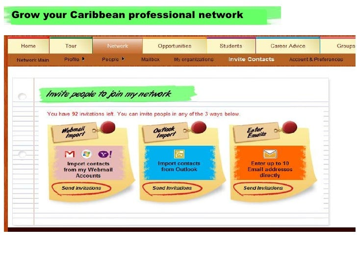 Grow your Caribbean professional network<br />