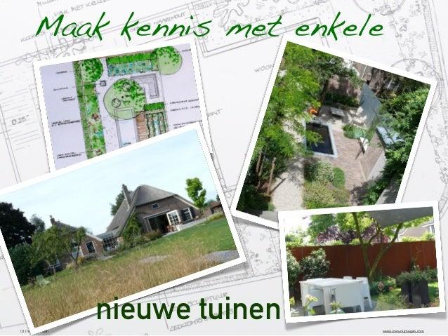 Maak kennis met enkele  nieuwe tuinen (c) invo nijmegen  www.invo-nijmegen.com