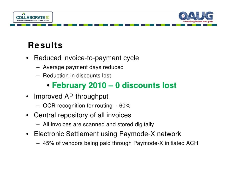 Invoice And Payment Automation For Oracle EBS Bottomline And Buzzi A - Oracle ocr invoice