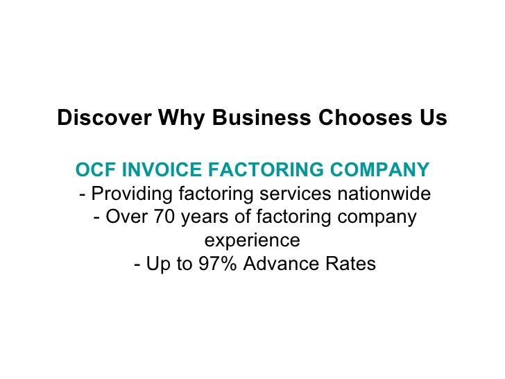 Invoice factoring company solve all of your cash flow needs for What is invoice factoring and how is it used