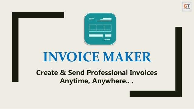 invoice maker app