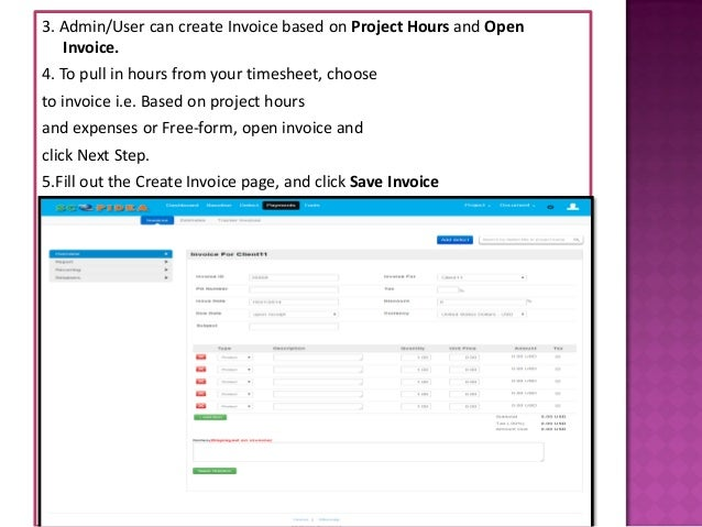Invoice Software - Open invoice software