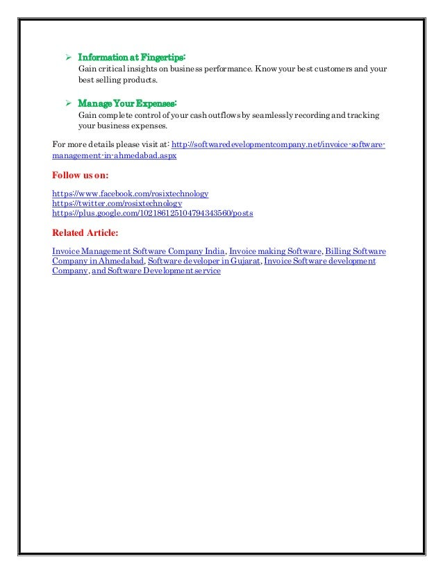 Invoice Software Development Billing Software Development Company - Software development invoice