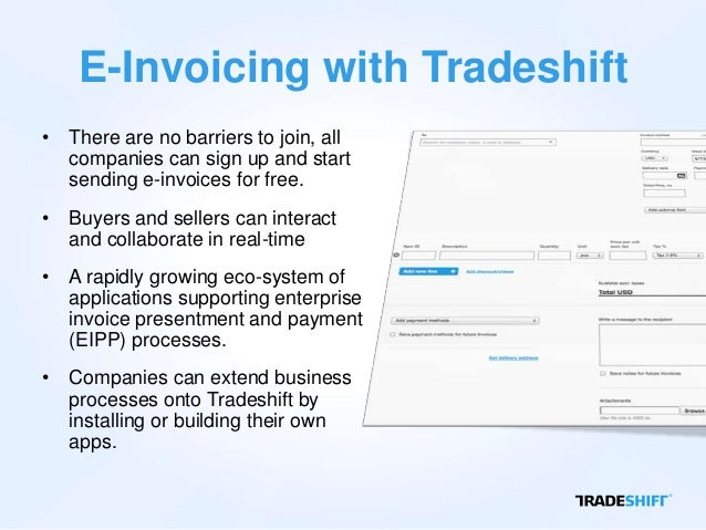 Tradeshift Webinar Fully Compliant EInvoicing Solution To Latin Ame - Invoice america
