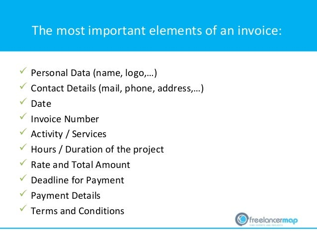 How To Write An Invoice As A Freelancer Tips Contents And Templates