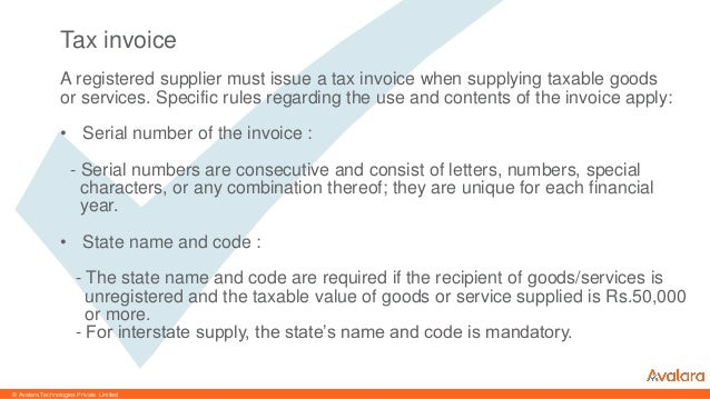 Temporary Hand Receipt Word Invoicing Under New Gst Regime Australia Tax Invoice Template Word with Carbon Invoice Word Avalara Technologies Private Limited Types Of Invoices Under The New  Regime  Email Receipt