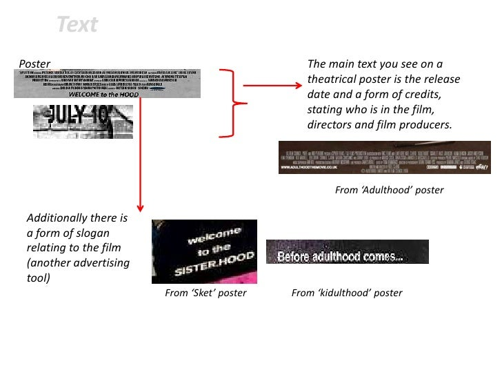 TextPoster                                           The main text you see on a                                           ...