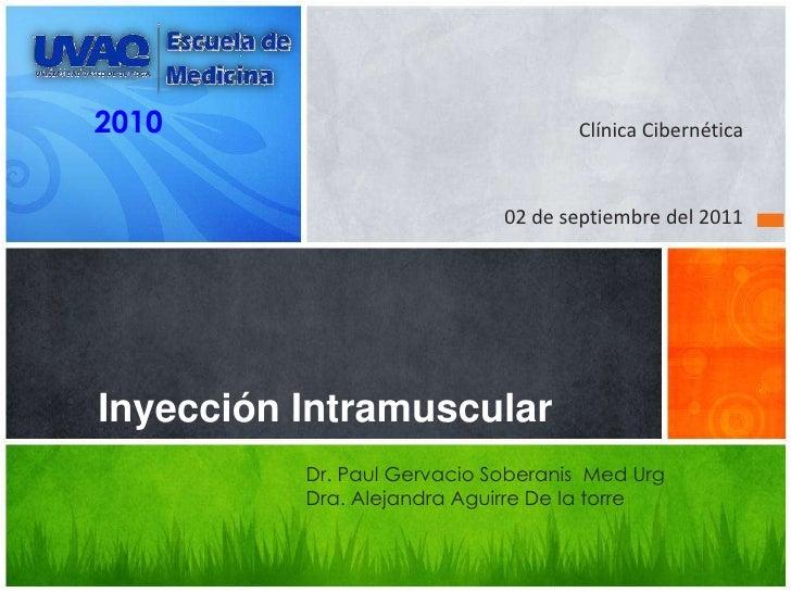 2010                                Clínica Cibernética                             02 de septiembre del 2011Inyección Int...