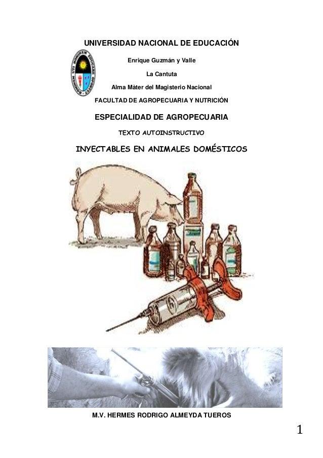 UNIVERSIDAD NACIONAL DE EDUCACIÓN Enrique Guzmán y Valle La Cantuta Alma Màter del Magisterio Nacional FACULTAD DE AGROPEC...