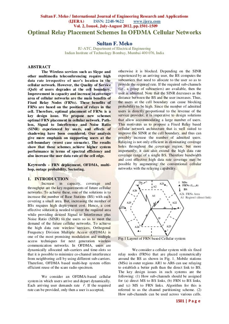 Sultan F. Meko / International Journal of Engineering Research and Applications                      (IJERA)         ISSN:...