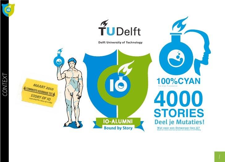 CONTEXT               100%CYAN            4000            The blue Foundation               STORIES           Deel je Muta...