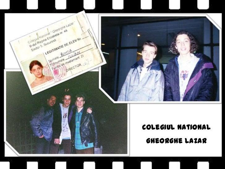 Colegiul National<br />Gheorghe Lazar<br />