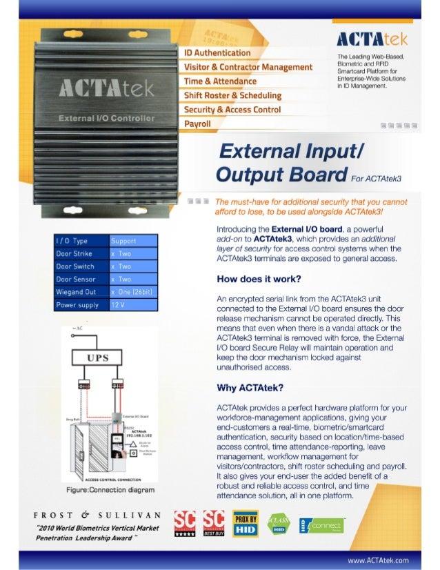ACTAtek Io box