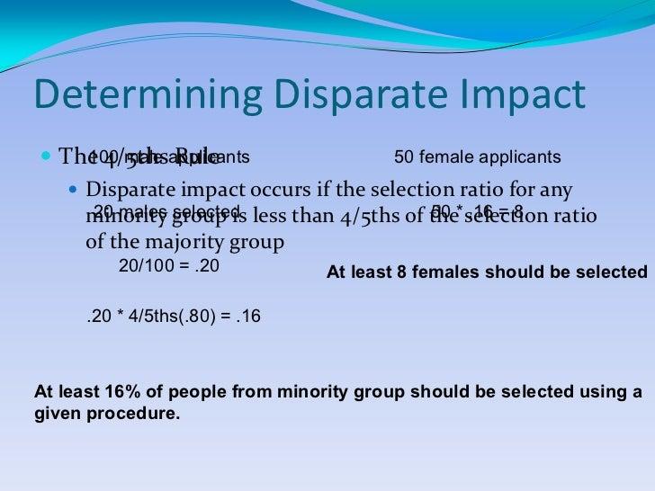 disparate impact vs disparate treatment case Disparate impact cases are different in kind from the far more common disparate treatment claims that are the staple of single-plaintiff discrimination cas.