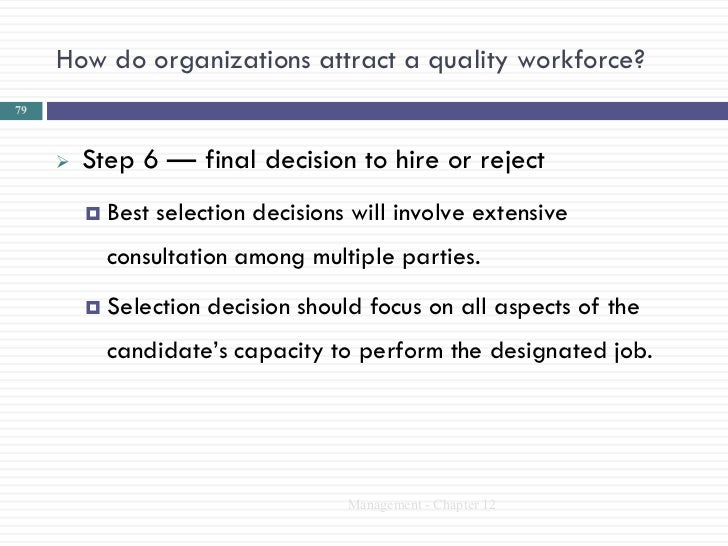 how organizations attract a quality workforce For those who are focused on attracting quality talent  (rpo) is a cost- effective recruiting strategy that allows organizations to attract and retain top  talent.