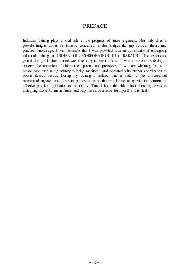 Iocl barauni report doc. Slide 2