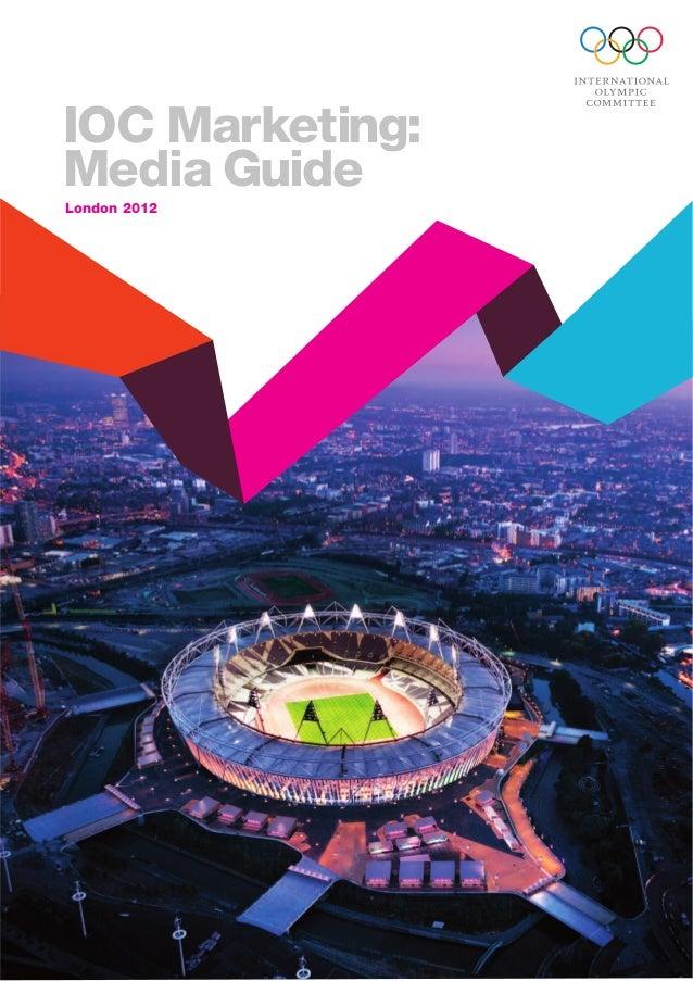 IOC Marketing: Media Guide London 2012