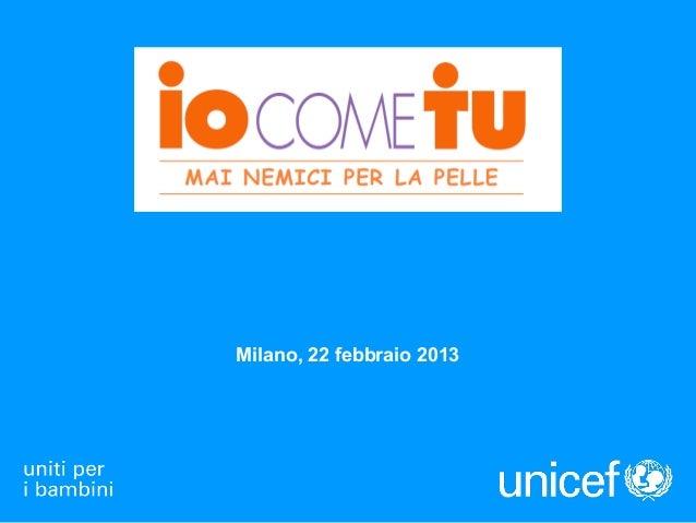 Milano, 22 febbraio 2013