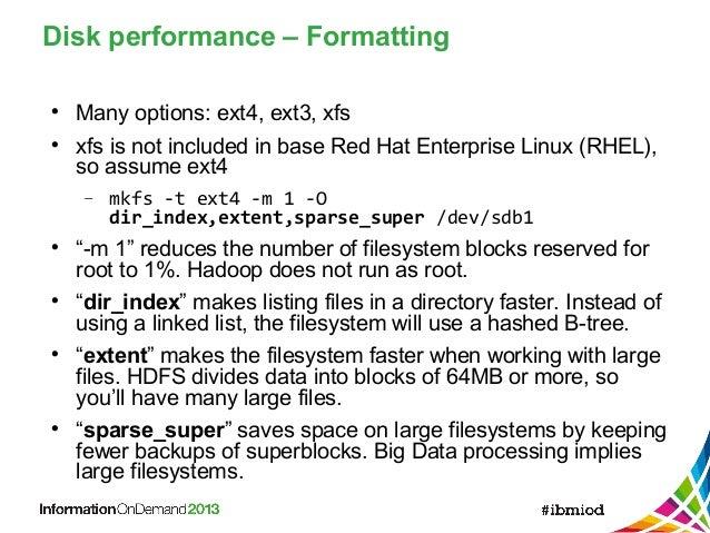 Best Practices for Deploying Hadoop (BigInsights) in the Cloud