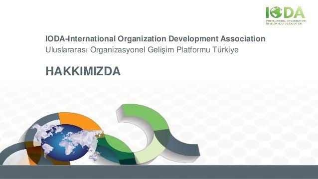 IODA-International Organization Development Association Uluslararası Organizasyonel Gelişim Platformu Türkiye HAKKIMIZDA