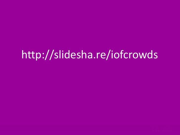IOF crowd funding slides july 2011 Slide 2