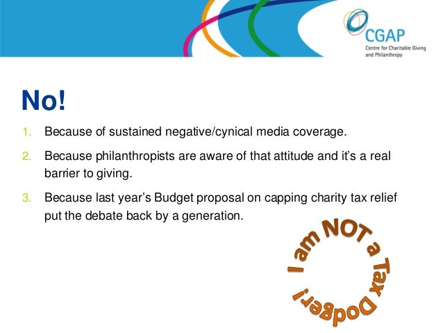 Will Britain ever learn to love philanthropy? Slide 2