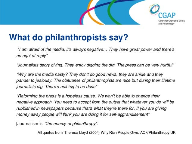 Will Britain ever learn to love philanthropy? Slide 3