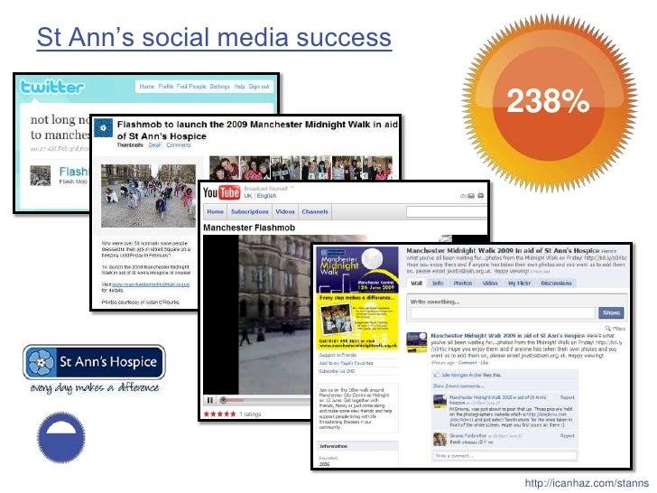 St Ann's social media success                                  238%                                     http://icanhaz.com...