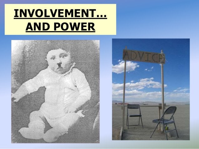 INVOLVEMENT… AND POWER