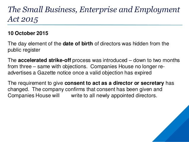PSC Register: the central register Companies must provide all the information in their PSC register to Companies House on ...