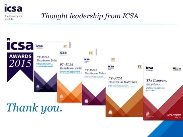 ICSA Isle of Man Conference 2016