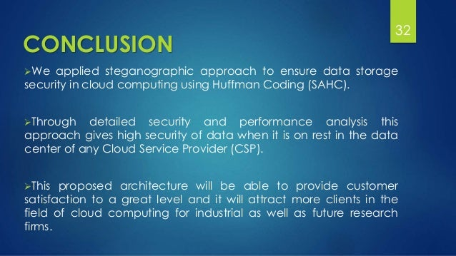cloud computing essay conclusion Conclusion of cloud computing thesis statement this term paper will discuss the concept of cloud computing, including its strengths and weaknesses  cloud computing abstract this essay determined the impact of cloud computing on corporate information technology level.