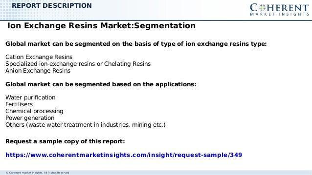 Ion exchange resins market Slide 3