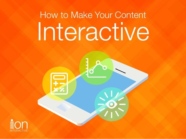How to Make Your Content Interactive