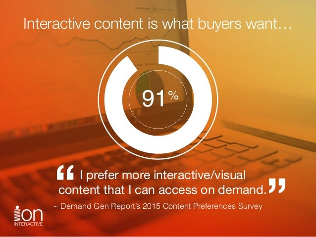 how to make effective interactive content