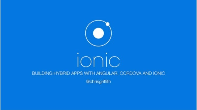 What is the Ionic Framework?