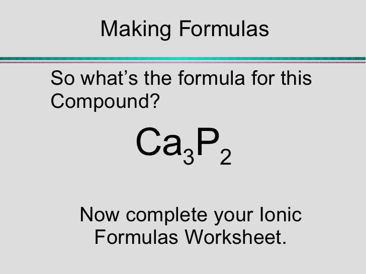 Ionic Bonding Notes – Ionic Bonding Worksheet